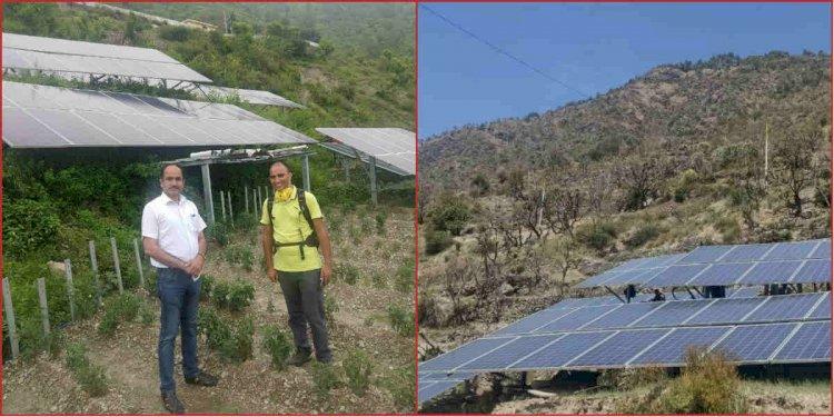 पहाड़ में शुरू हो गई है 'सौर उर्जा की खेती'