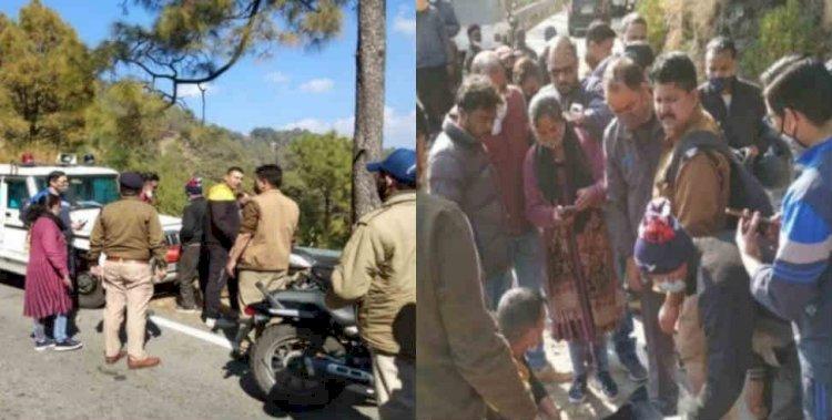 नैनीताल: कार हादसे में तीन युवाओं ने गंवाई जान, दो दिन बाद चला हादसे का पता