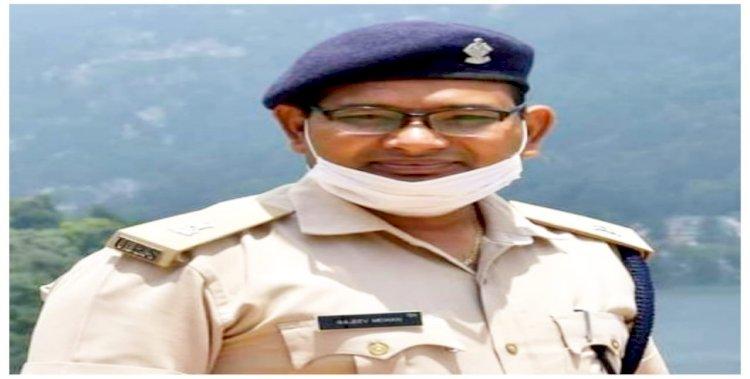 हल्द्वानी के एसपी ट्रैफिक राजीव मोहन का असामयिक निधन, पुलिस विभाग में शोक की लहर