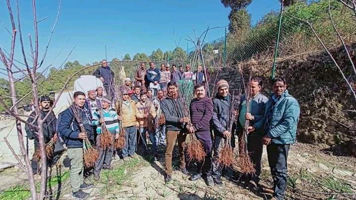 उत्तराखंड के किसानों को एप्पल फार्मिंग के लिए प्रेरित कर रहे हैं गोपाल उप्रेती