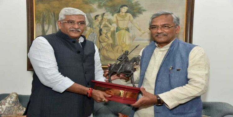 सीएम त्रिवेन्द्र का दिल्ली दौरा: जल शक्ति मंत्री शेखावत से मिले सीएम त्रिवेन्द्र, इन योजनाओं पर मांगी सहमति