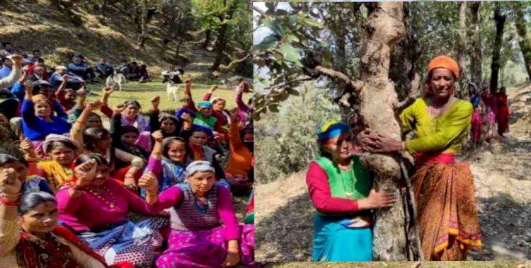 उत्तराखंड में यहां अंगड़ाई ले रहा है चिपको आंदोलन, संकल्प वही जो गौरा देवी का रहा था