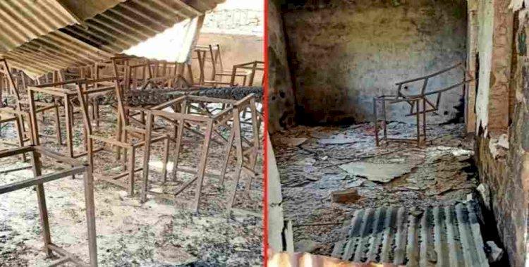 उत्तराखंड: जंगल की आग में जलकर खाक हुए इंटर कॉलेज के चार कमरे