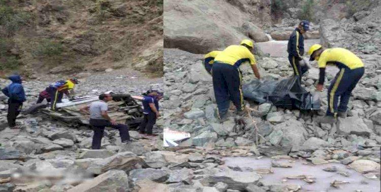 रुद्रप्रयाग: दो दिन बाद चला सड़क हादसे का पता, दो किशोरों समेत तीन की दर्दनाक मौत