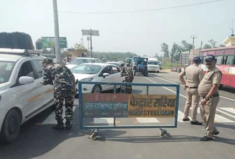 हरिद्वार: 740 तीर्थयात्रियों को पुलिस ने भेजा वापस, 37 मिले कोरोना संक्रमित