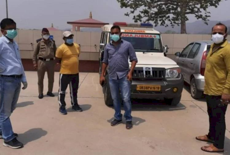 कोरोना संक्रमित का शव लाने के 80 हजार रुपये मांग रहा था एंबुलेंस चालक, प्रशासन ने लिया कड़ा एक्शन