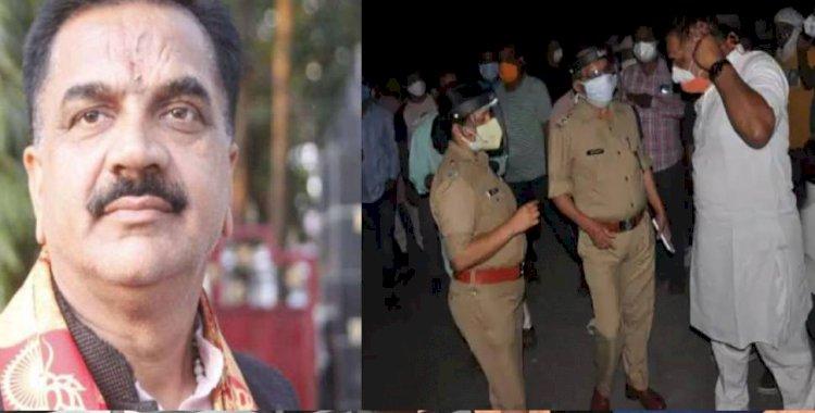 रुद्रपुर विधायक राजकुमार ठुकराल पर हमला: कार छोड़ भागा हमलावर