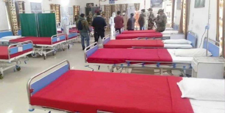 गढ़वाल : सेना ने बनाया 50 बेड का कोविड अस्पताल, कोरोना संक्रमितों के इलाज में मिलेगी मदद