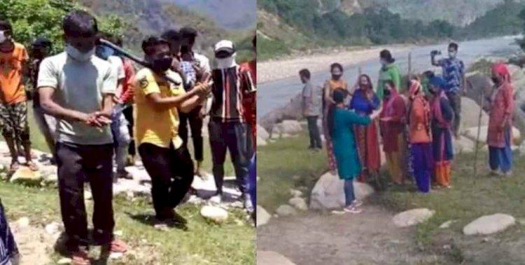 उत्तराखंड:ग्रामीणों ने नहीं होने दिया कोरोना संक्रमित का शवदाह, प्रशासन की टीम पर किया पथराव
