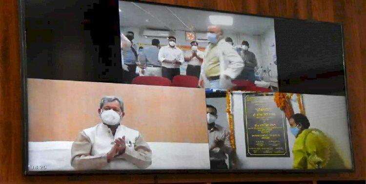 श्रीनगर मेडिकल कॉलेज में स्थापित किए गए 30 नए आई.सी.यू बेड, सीएम ने किया लोकार्पण