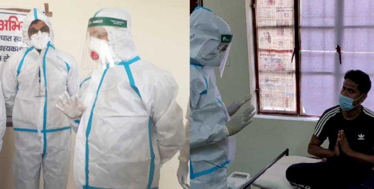 पीपीई किट पहनने के अपने अनुभव सीएम ने किए साझा, डॉक्टर्स को किया सैल्यूट