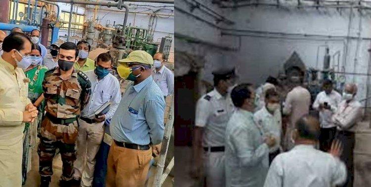 सेना के इंजीनियरों की अथक मेहनत से IDPL के ऑक्सीजन प्लांट में उत्पादन शुरू