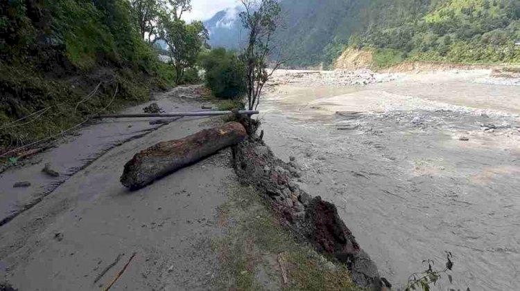 उत्तराखंड:आपदा प्रभावितों गांवों में गहराया खाद्यान्न संकट