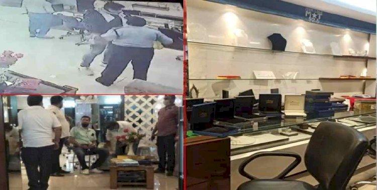 बड़ी खबर : हरिद्वार में दिनदहाड़े ज्वैलरी शॉप पर दो करोड़ की डकैती, बदमाश फरार