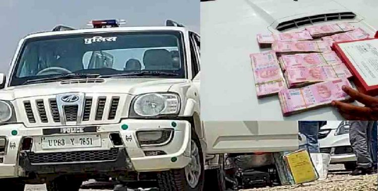 मिठाई के डब्बों में भरकर 16 लाख की नकदी ले जा रहा अफसर गिरफ्तार, घूस का धन होने का आरोप