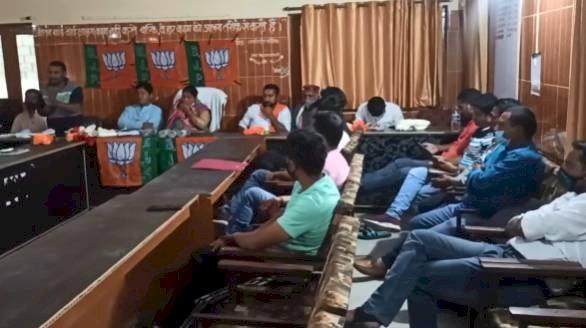थराली: भाजपा विधायक मुन्नीदेवी शाह की उपस्थिति में हुई भाजयुमो की बैठक