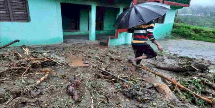 उत्तरकाशी के बाद टिहरी में भी भारी बारिश ने बरपाया कहर
