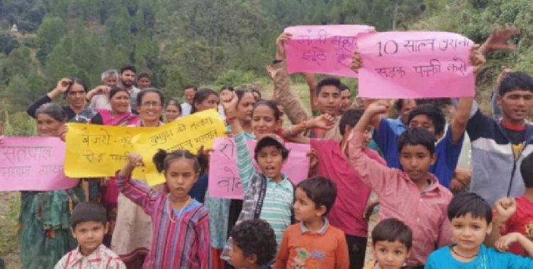 फिर शुरू हुआ सतपाल महाराज के खिलाफ बीरोंखाल में आंदोलन, जानें क्यों आंदोलित है जनता?