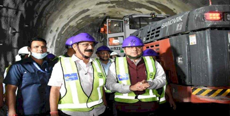 सीएम पुष्कर सिंह धामी ने ऋषिकेश-कर्णप्रयाग रेल परियोजना की समीक्षा की, टिहरी जाकर परियोजना का लिया जायजा